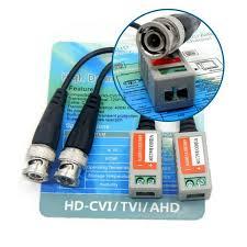 Fiche Vidéo Balun pour camera de surveillance HD-CVI/TVI/AHD tunisie