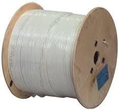 BOBINE Câble coaxial TV/SAT noir ou PVC blanc