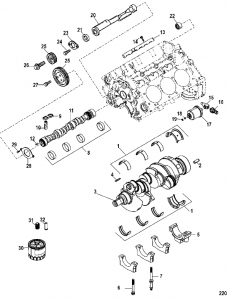 Chevy 4.3 Engine Diagram : chevy, engine, diagram, Mercruiser, Engine, Performance, Specifications, Longblock, Pricing, PerfProTech.com