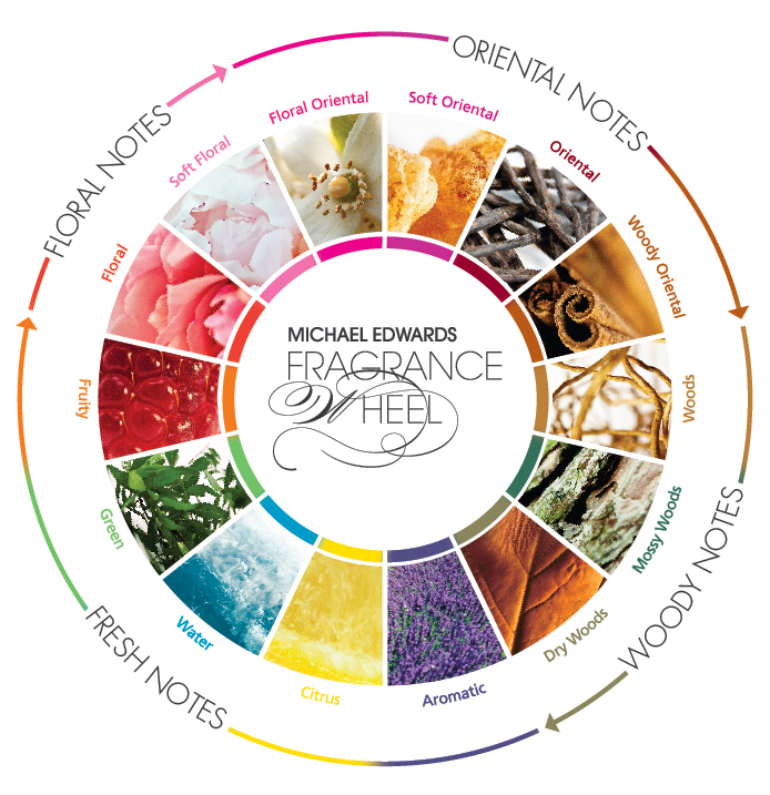 Scent Mapping: Diagrams and Aroma Wheels | Perfume Polytechnic