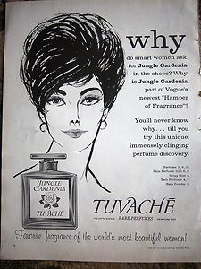tuvache jungle gardenia perfume