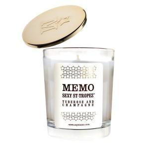 memo candle perfume gift