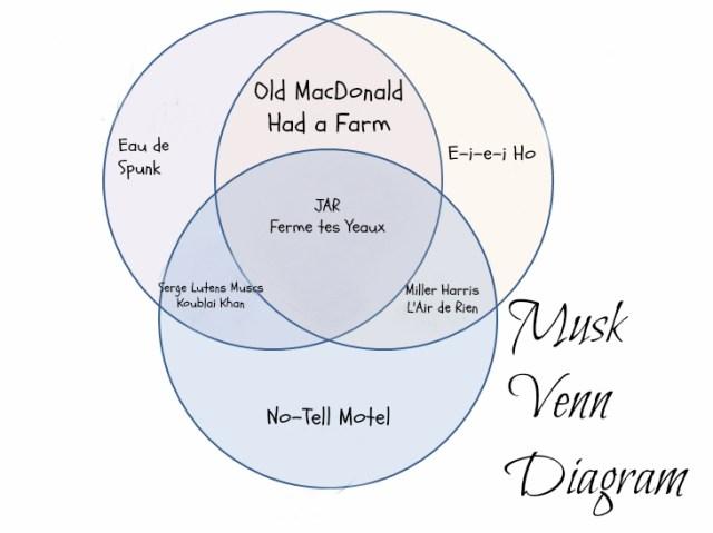 musk perfumes venn diagram