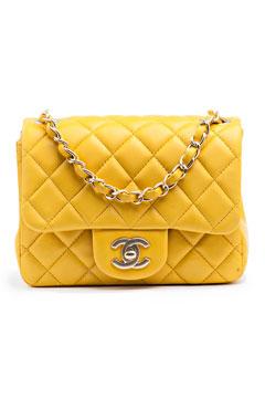 chanel 1932 - yellow purse