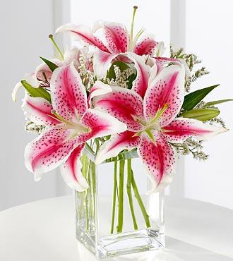 Baiser Vole Cartier Lily Vase ftd