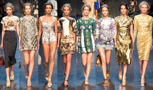 dolce-and-gabbana-ss14-runway-show yournextshoes
