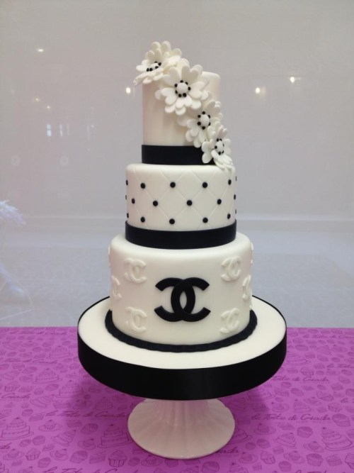 3 tier Chanel Cake