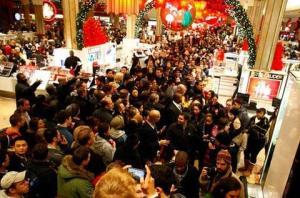 crush shopping craziness holiday madness