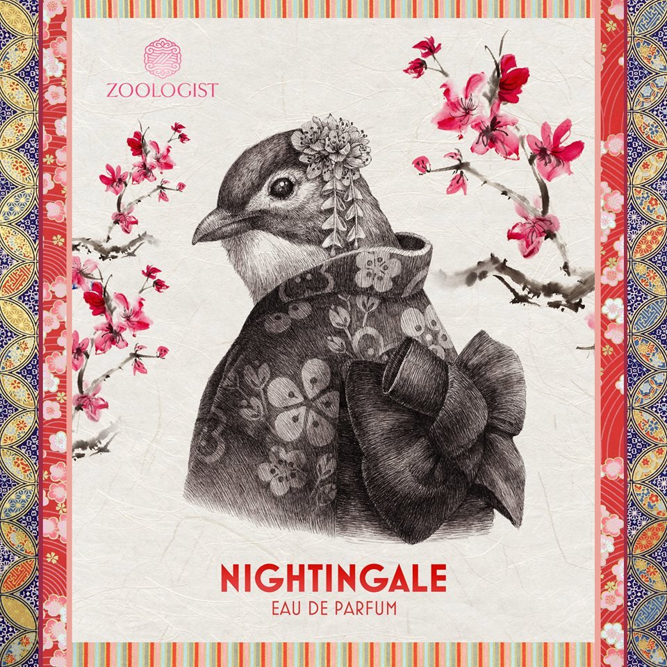 sampling zoologist nightingale perfume review