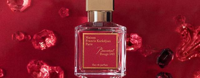 Baccarat Rouge 540 Maison Francis Kurkdjian and Maison Baccarat