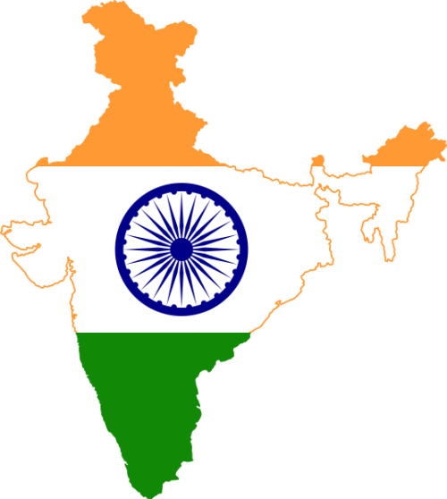 India Adventure 2017 Suncontinent Map Wikimedia
