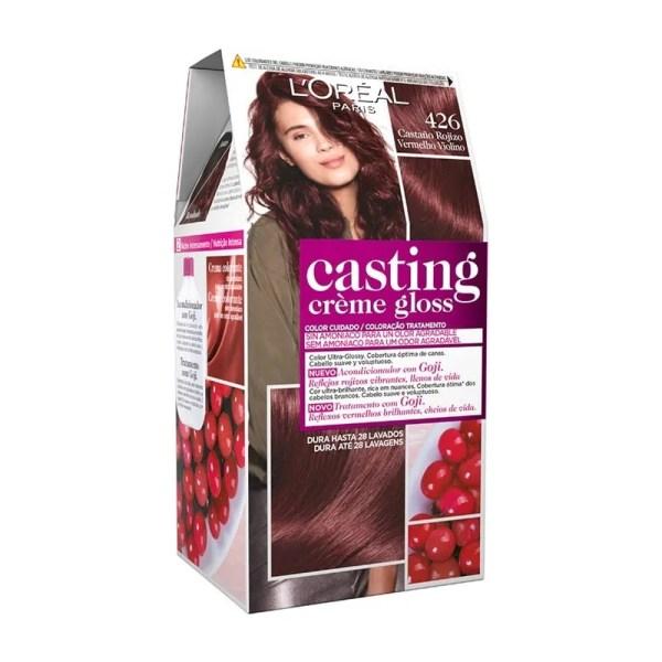 L'OREAL PARIS Casting Creme Gloss Baño de Color 426 Castaño Rojizo