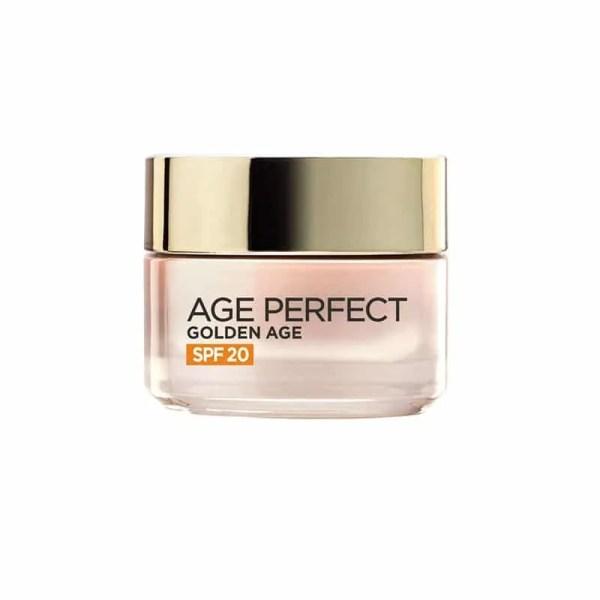 L'Oréal Paris Age Perfect Golden Age Crema de Día con protección solar SPF 20 Pieles Maduras y Apagadas