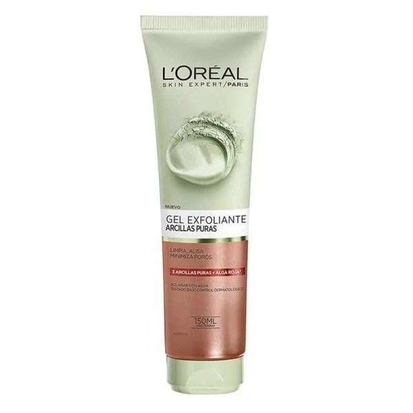 L'Oréal Paris Gel limpiador Arcillas Puras Exfoliante 150ml