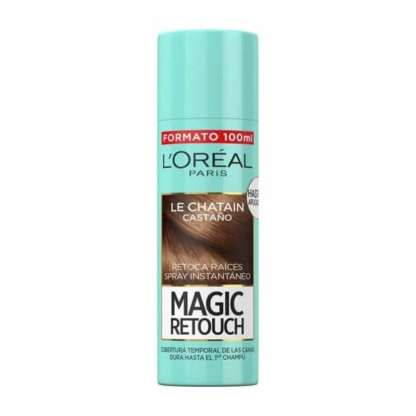 L'OREAL PARIS Magic Retouch Spray Retoca Raíces y Canas Castaño 100ml