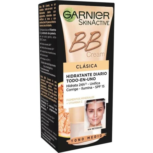 Skin Active BB Cream Clásica con vitamina C - Medio