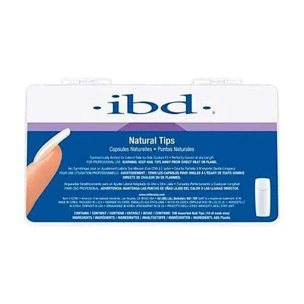 IBD NATURAL TIPS - TIPS PARA UÑAS 100 UDS