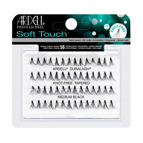 ARDELL PESTAÑAS SOFT TOUCH KNOT-FREE MEDIUM BLACK