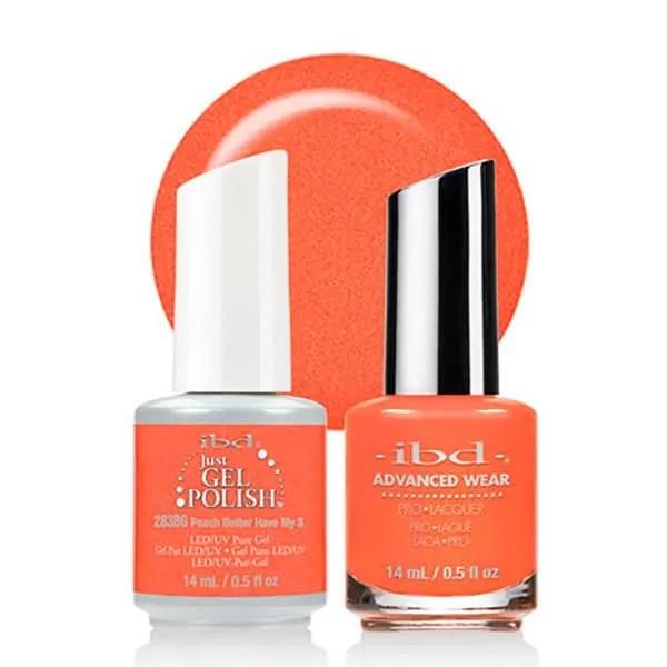 Ibd Just Gel Esmalte en Gel Semipermanente Peach Better Have My$ 14 ml