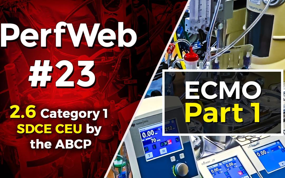 Concepts in ECMO Delivery of Oxygen and Acute Renal Injury, Making the Connection – Part 1