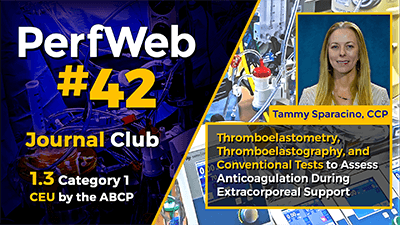 Thromboelastometry, Thromboelastography, and Conventional Tests to Assess Anticoagulation During Extracorporeal Support