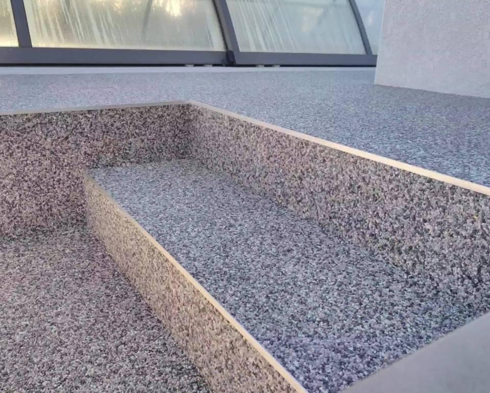 Résineo Drain Système revêtement de sol minéral perméable à base de résine et gr…
