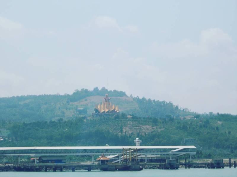 Bakauheni adalah pelabuhan terdekat dari Bandar Lampung via @dzaky_tri