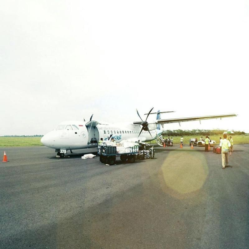 Garuda indonesia menyediakan rute penerbangan Surabaya - Jember via @catatanruslan