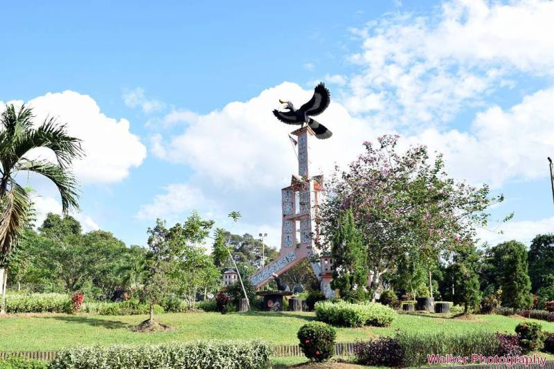 Monumen engang Tanjung Selor via @aries_walker91