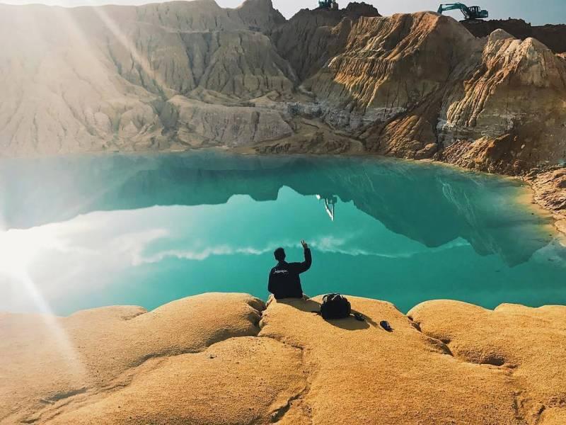 Bekas Penambangan Timah Aek Ketok, Muntok, Kabupaten Bangka Barat, Bangka Island, Kepulauan Bangka Belitung, Indonesia via @daffaalfrby