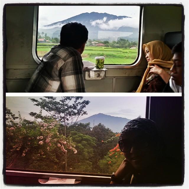 Sepanjang perjalanan ke Sukabumi akan disuguhi pemandangan yang cantik via @amir_yudow