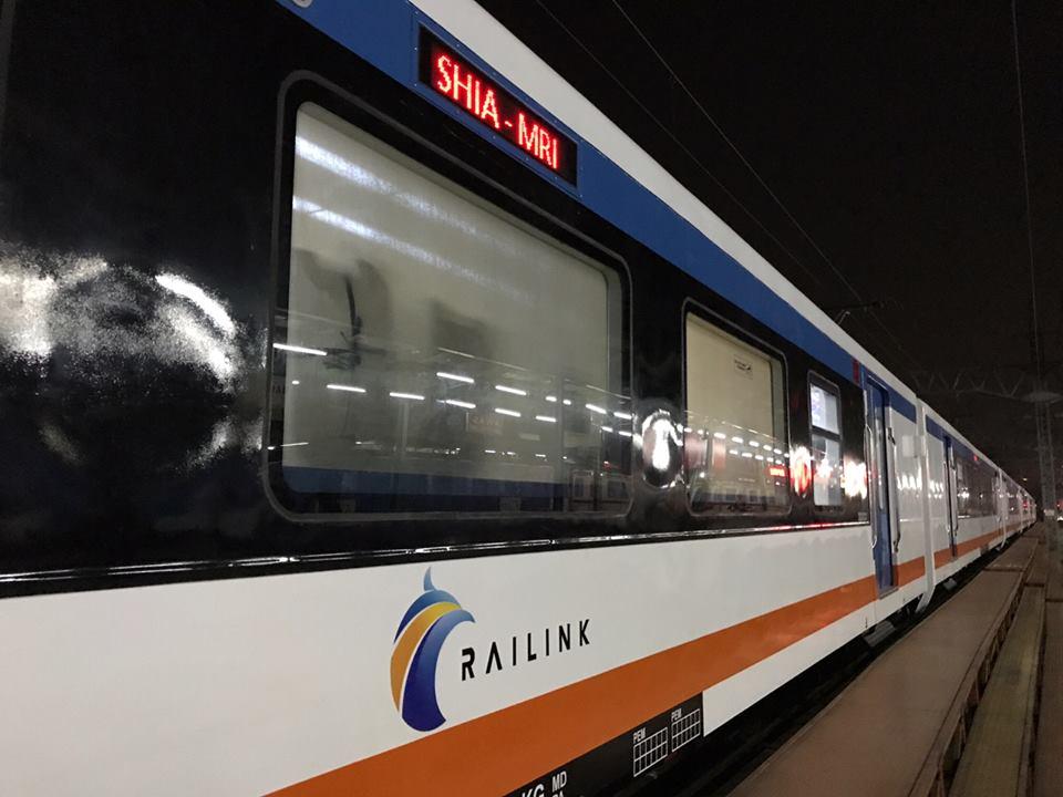 Gerbong KA Bandara Soekarno-Hatta