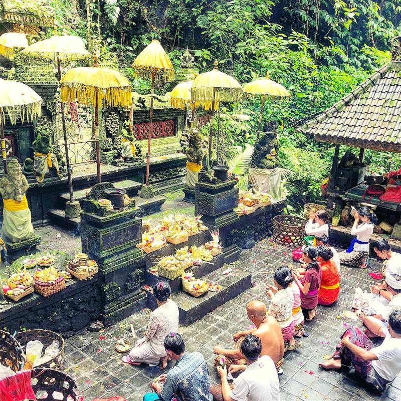 Pura di Sebatu, Bali @maximaroundtheworld