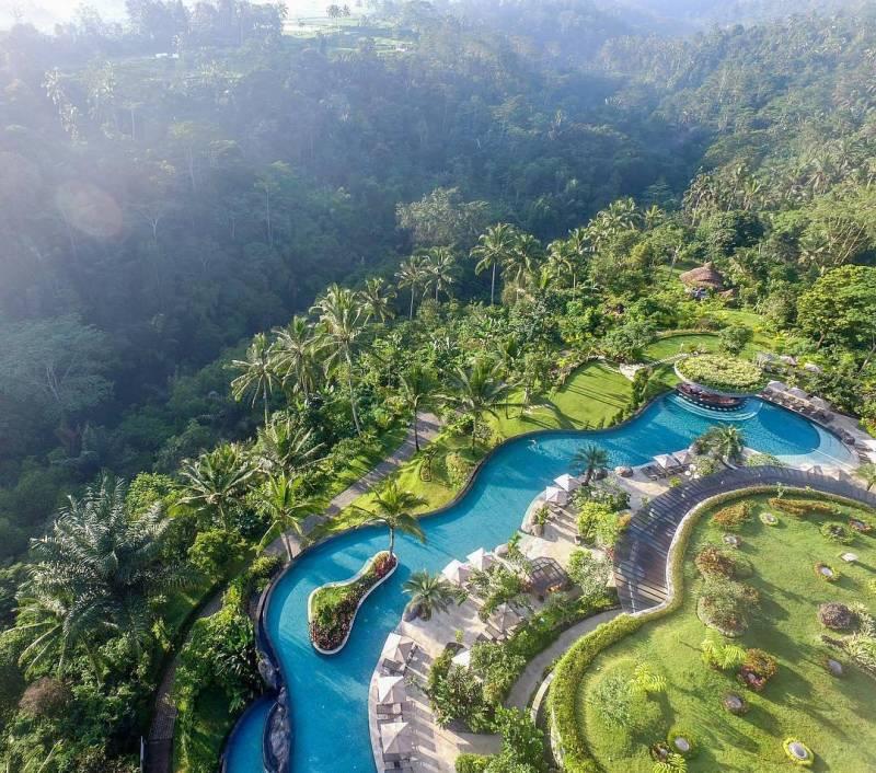 Ada banyak hotel mewah di Ubud via @padmaubud