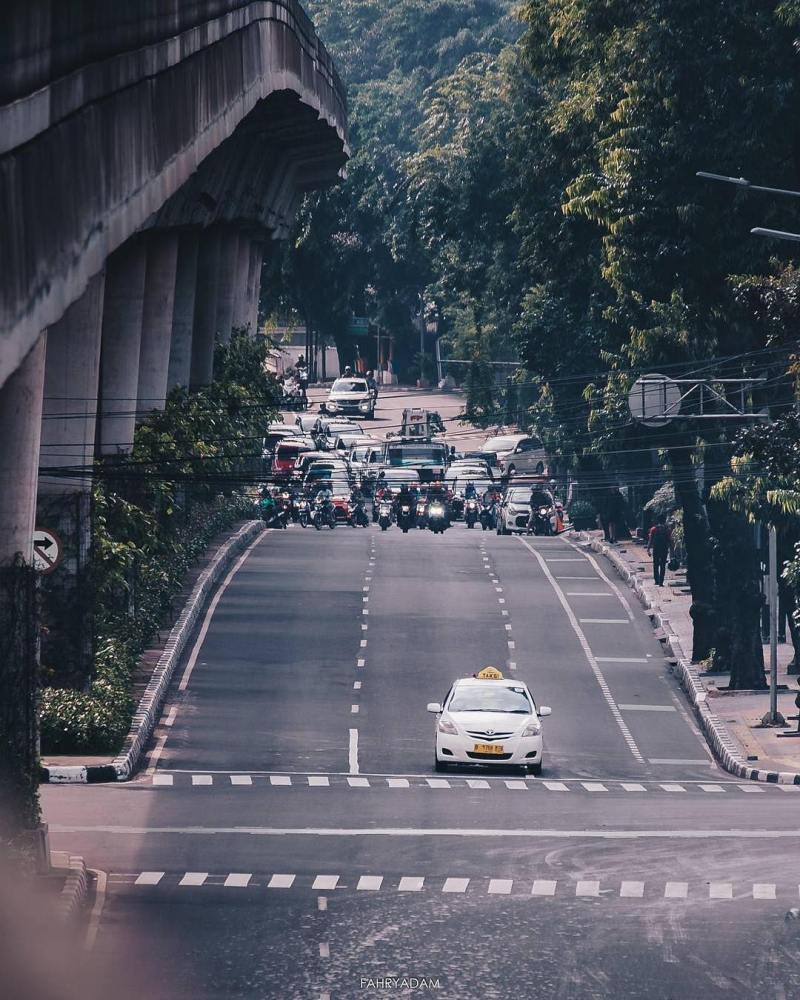 by @fahryadam taken around Melawai, South Jakarta