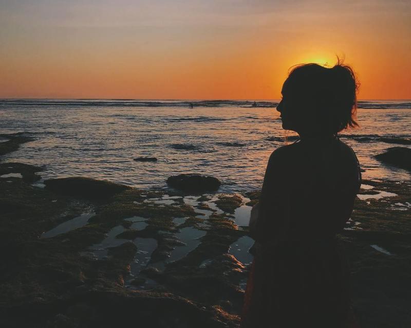 Pantai Uluwatu, Badung, Bali via @gadgetdwf