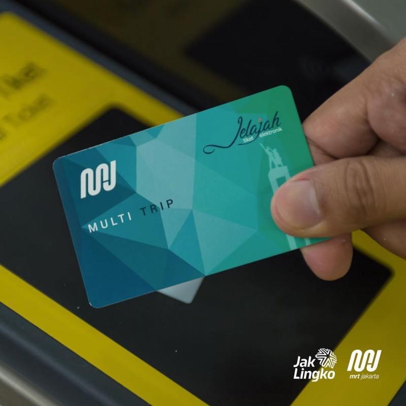 Multi Trip Ticket (MTT) MRT Jakarta!