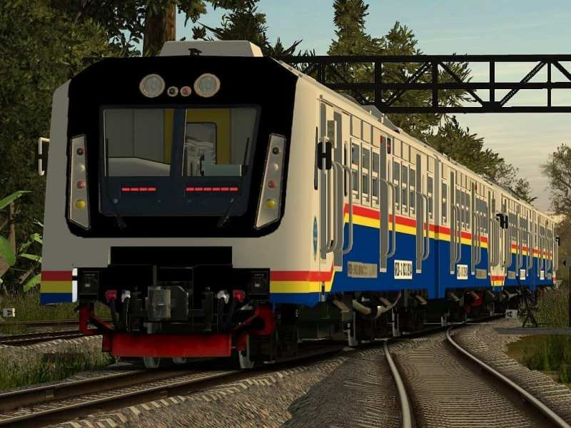 KA Sri Lelawangsa yang melayani rute jadwal Kereta Api Binjai Medan pulang pergi.