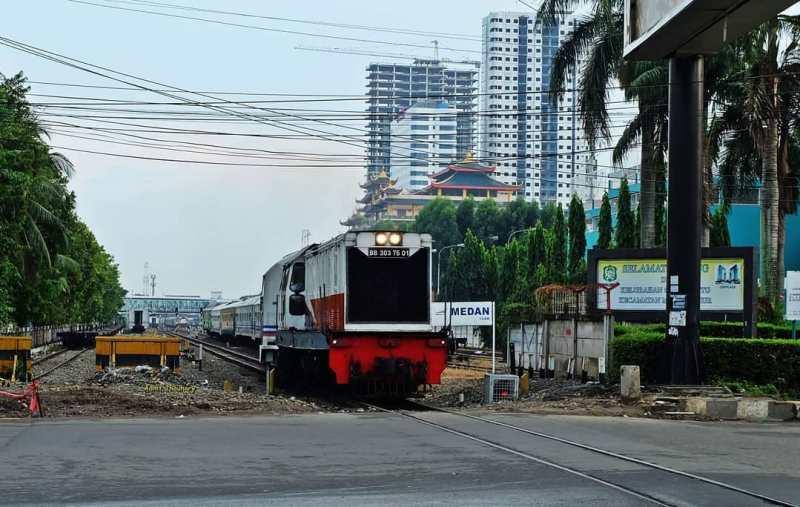 Jadwal Kereta Api Binjai Medan Naik Kereta Api Sri Lelawangsa
