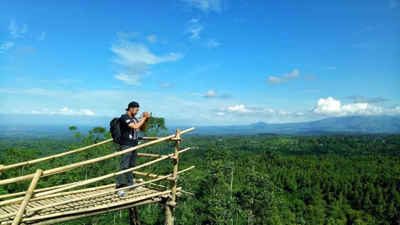 Daftar Tempat Wisata Di Blitar Jawa Timur Lengkap, Gumuk Sapu Angin Blitar