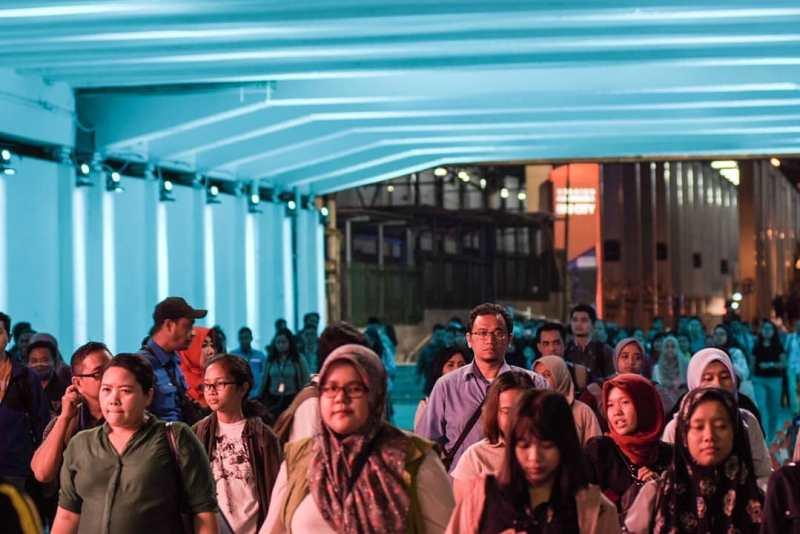 Stasiun Sudirman Baru Jakarta Selatan - Stasiun Di Indonesia