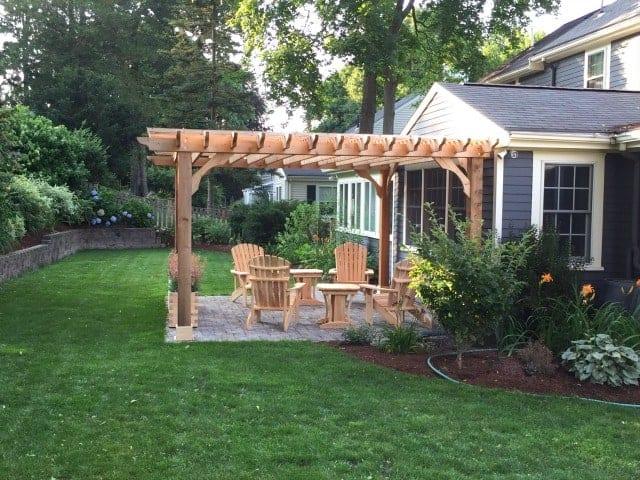 pergola designs for patios find