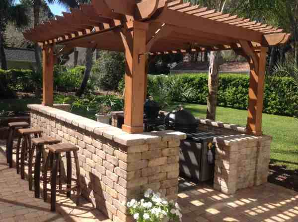 10x20 Pergola Kits Big Kahuna Wood Kit