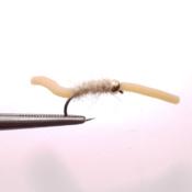 Vaalean Ruskea Squirmy Worm Uppoperho