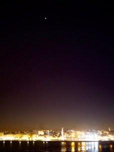 Venus Tangerin yläpuolella