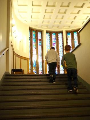 Kansallismuseon kaunis portaikko
