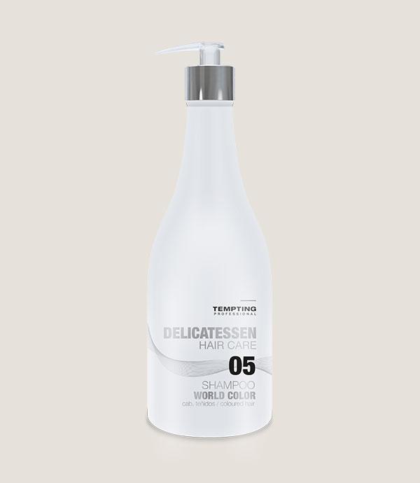 WORLD COLOUR šampoon värvitud juustele 300 ml hoiab juuksevärvi säravana