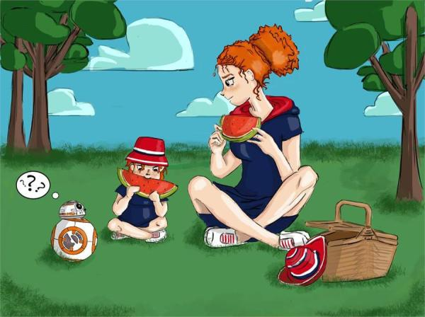 perierga.gr - Η μοναδική σχέση μαμάς-κόρης σε σκίτσα!