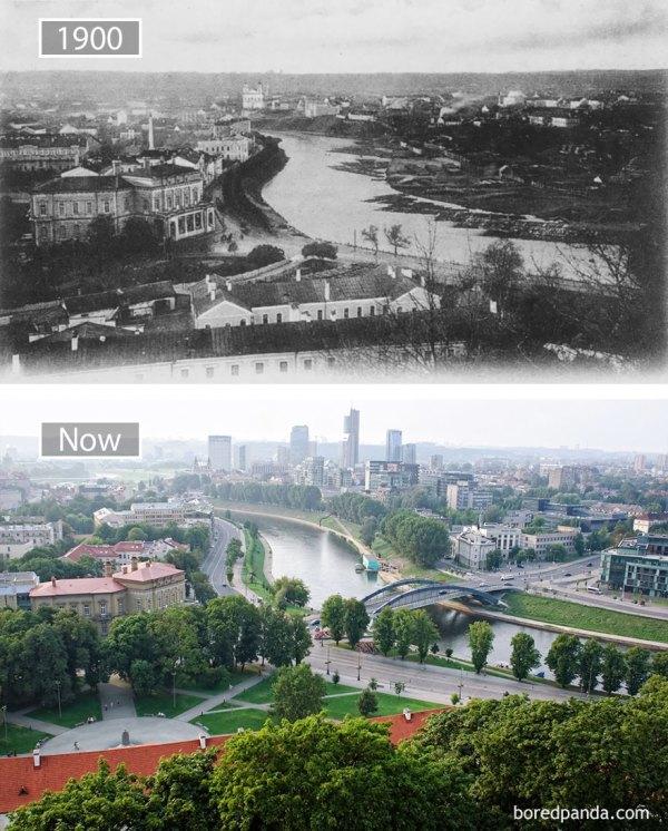 perierga.gr - Διάσημες πόλεις πριν και μετά την εντυπωσιακή αλλαγή τους!