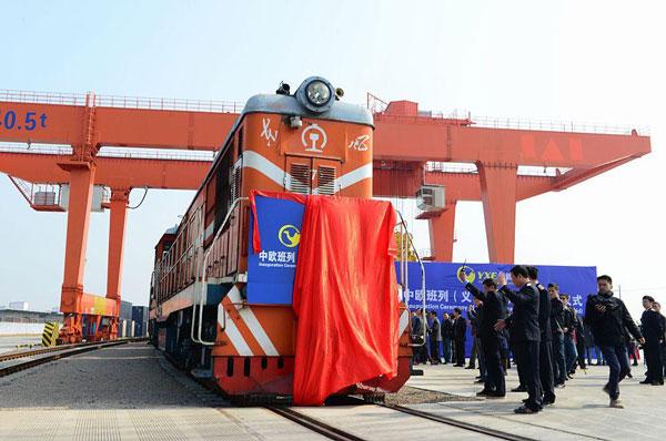 perierga.gr - Το πρώτο εμπορικό τρένο από την Κίνα στο Λονδίνο!